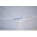Hotel mattress cover with edging