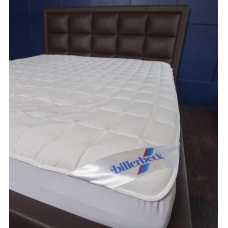 Terry mattress cover with edging